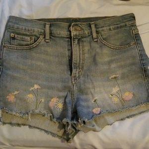 Levi Floral Shorts